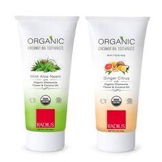USDA Organic Toothpaste