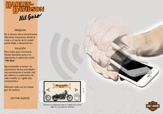 "Board App  ""Hit Gas""de Harley Davidson para la campaña ""Do the Silence"""