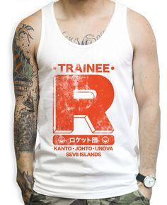 Team Rocket Trainee Tank Tops