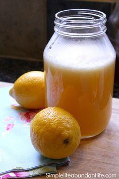 diy lemonade concentrate