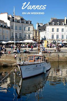 Découvrir Vannes au printemps, une jolie petite ville du Morbihan en France !