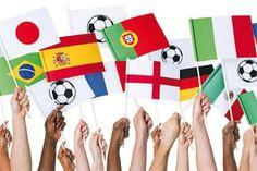 Set de 5 drapeaux blancs à décorer