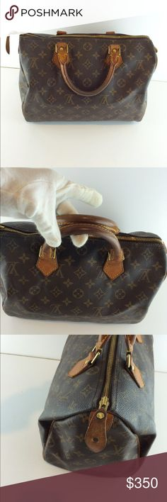 Authentic Louis Vuitton speedy 30 Vintage.ready to use.100% authentic .no trades.no low offers Louis Vuitton Bags Totes