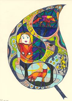 Die Blumenwiesenfee Illustration 19: Blatt Illustration, Fairy, Illustrations