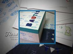 Libro de nacimiento y caja para Bautista