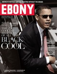 Black Cool: Barack Obama Poster