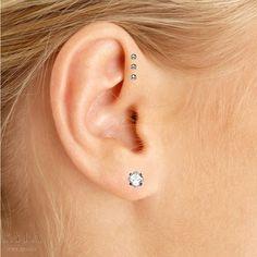 Ear piercing types men