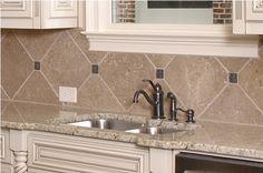 Kitchen Tile Backsplashes #13 | Kitchen Tile Backsplashes with Granite Countertops