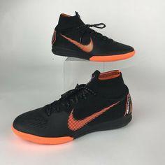 AH7373-081 Nike Mercurial SuperflyX 6 Elite Indoor IC Soccer Shoes Black SZ
