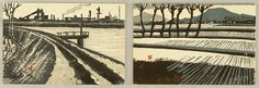 Kinji Watanabe born 1925 - New Year's Greeting Cards - 1981 and 1986 Artelino