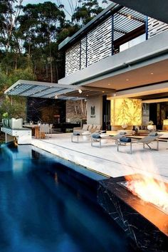 #exterior #pool #home #architecture