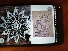 Snowflakes, Tatting, Crochet Patterns, Crochet Squares, Tejidos, Xmas, Christmas, Breien, Snow Flakes