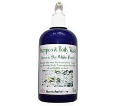 Shampoo and Body Wash Pump Horizon Sky White Floral Includes Scrubby, Body Wash Pump Dispense Floral, Fresh, Crisp, Clean, Organic, Moisture by ShoppingBuyFaith on Etsy Pure Cosmetics, Shower Scrub, Hydrating Lip Balm, My Essential Oils, Fiber Lash Mascara, Natural Preservatives, Organic Oil, Fragrance Oil, Body Wash