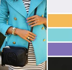 10 нежных цветовых сочетаний в одежде для этой весны.