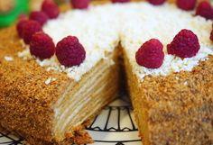 Russian Honey Cake Recipe | Medovik