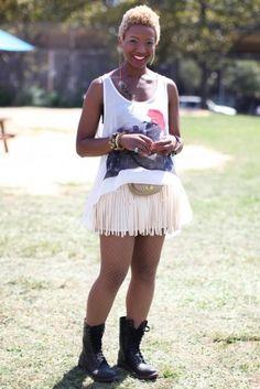 Street Style: AfroPunk Festival | Essence.com
