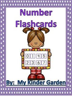 These cards can be used in many different ways. They can be cut apart and laminated to be part of a math center or made for each student to practice. Students can use these cards to practice number recognition or to practice putting numbers in order.