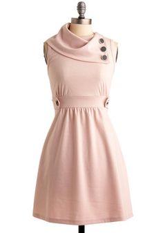 Coach Tour Dress in Rose