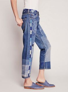 Heirloom - Conscience Heirloom Moondial Vintage Boyfriend Jeans at Free People Clothing Boutique