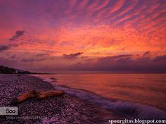 burning sunset by iliasanthitsas #Travel #fadighanemmd