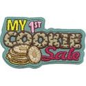 """""""My 1st Cookie Sale"""" - Welcome to the largest girl-led business in the world! $1.25 #girlscoutswag"""