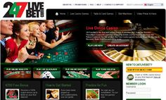 247livebet is real, online, live casino, streaming 24 hours a day, seven days a week, from brick and mortar casinos based in Ireland and Isle of Man.      An unrivaled, real, live experience of Roulette, Blackjack, Texas Hold'Em, Baccarat games, from ...