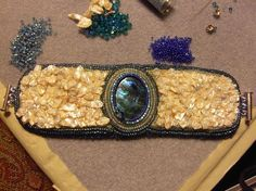 Beaded Embroidery Cuffs Bracelets | Bead Embroidery Cuff - Forums - Beading Daily