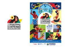 23 Festival de Inverno de Garanhuns on Behance