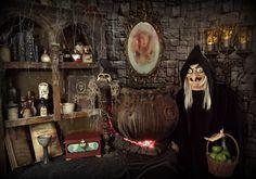Halloween Forum members frogkid11 & StacyN's 'Dark Side of Disney' evil queen den