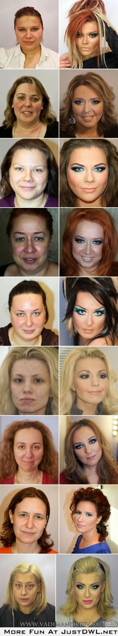 Men don't get why we wear make up. I get the whole 'natural' thing but some of us need a little!