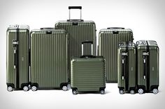 Olive Green Luggage Rimowa Olive Green LuggageGreen (disambiguation) Green is a color. Green may also refer to: Luxury Luggage, Travel Luggage, Travel Bags, Rimowa Luggage, Travel Suitcases, Travel Backpack, Cute Luggage, Luggage Sets, Best Travel Gadgets