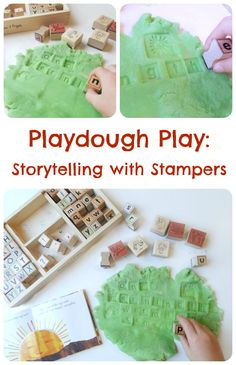 Playdough Play: Storytelling with Stampers