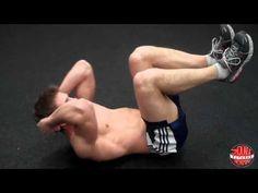 2分鐘不停歇,讓你的腹肌、王字肌一次到位的6招訓練動作!