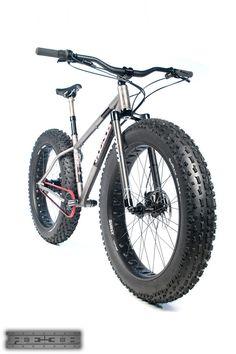 Titanium Fat Bike, Gates Carbon Belt Drive, Carbon Fork, Thompson Dropper Seatpost... anything else? Reeb Cycles - NAHBS
