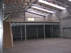 house interior Ryan Shed Plans Shed Plans and Designs For Simple Shed Construction! — RyanShedPlans Shed Properties Pole Barn Garage, Pole Barn Homes, Garage House, Garage With Loft, Metal Shop Building, Steel Building Homes, Building A House, Building Plans, Shop Buildings