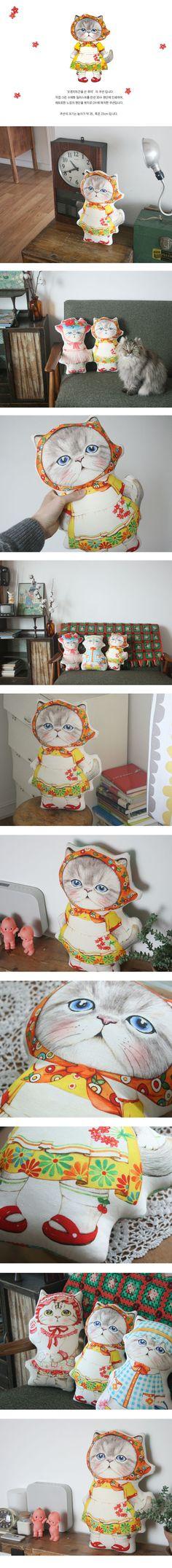 Cat persian uncle cat himalayan fabric doll plush pillow cushion pet kitten kitty