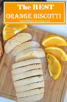 Twice baked, crunchy and yet soft, this Orange Biscotti is a perfect pair for your coffee or tea. Biscotti comes in different shapes, sizes and flavor and this recipe is a great base recipe for Bis… Italian Cookie Recipes, Italian Cookies, Italian Desserts, Baking Recipes, Dessert Recipes, Tea Recipes, Best Biscotti Recipe, Best Scone Recipe, Biscotti Cookies