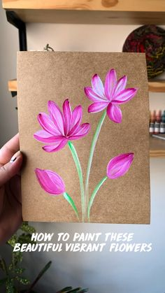 Painting Flowers Tutorial, Canvas Painting Tutorials, Diy Canvas Art, Acrylic Painting Canvas, Painting Techniques, Indian Art Paintings, Art Drawings Sketches Simple, Flower Art, Inspiration