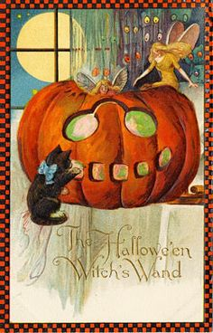 Vintage Halloween Images | Condition Free | Entirely Public Domain