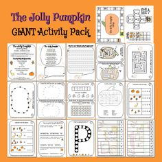 The Jolly Pumpkin Giant Activity Pack