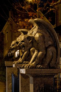 Gargoyles by twhaunt, via Flickr
