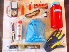 10 hiking essentials via @One Run BiteSizeWellness.com #fitfluential