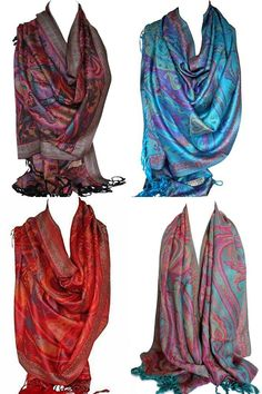 Paisley Ethnic Print Pashmina Feel Wrap Shawl Scarf Scarves Hijab in Rich Colour Scarves Uk, Woolen Scarves, Paisley Scarves, Wrap Clothing, Kids Clothing, Ethnic Print, Vintage Scarf, Pashmina Scarf, Shawls And Wraps