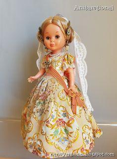Blog sobre la muñeca nancy de famosa vestida con traje regional