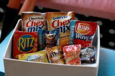Miniature snack box tiny little snacks miniature food by AbateArts, $6.00