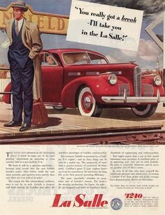 1940 LaSalle Ad