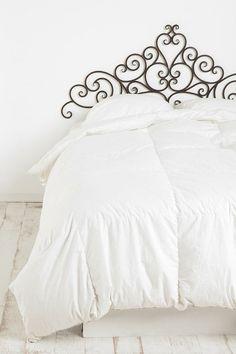 Nothing beats crisp white bedding.