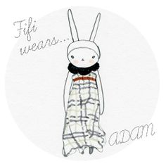 Fifi Lapin wears Adam