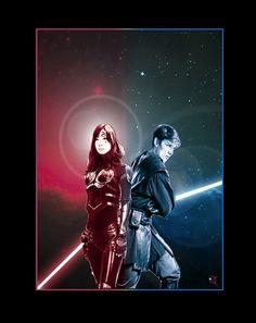 Ben Skywalker, and Vestara Khai by adamqd.deviantart.com on @DeviantArt