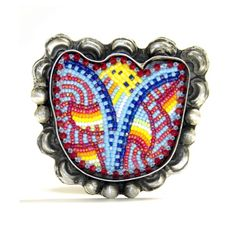Tulip Ring by Navajo artist JT Willie — Beyond Buckskin Boutique